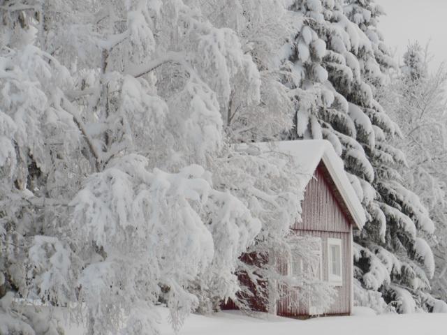 Gammalt hus i Nyby 2...