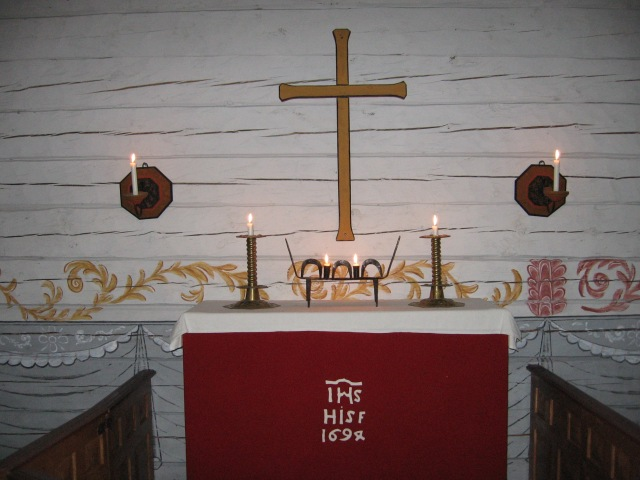 Jamtlis kyrka, altare 2..