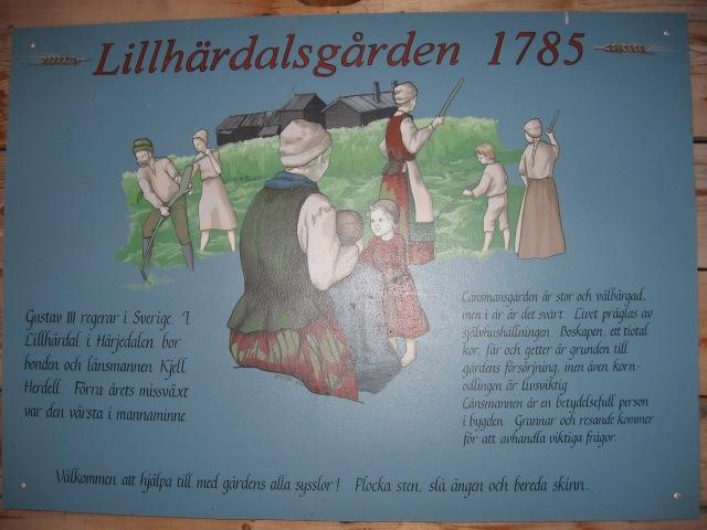 Lillhärdalsgården, beskrivning 2..