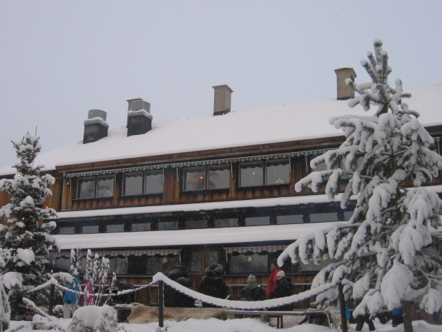 Restaurang Hov från baksidan...