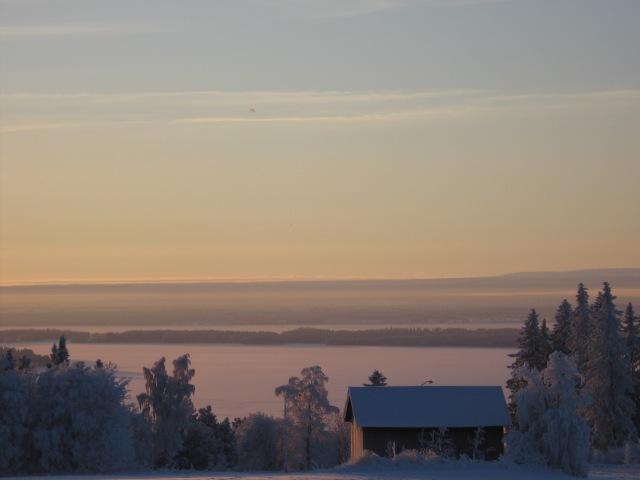 Utsikt över Storsjön...