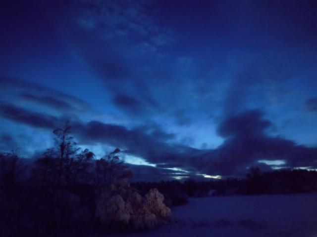 Kvällshimmel 1...