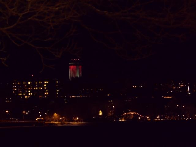 Natt i Östersund, termosen...