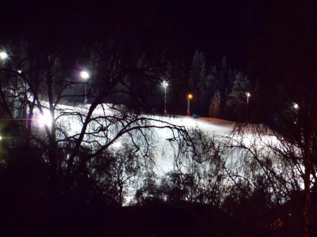 Slalombacken...
