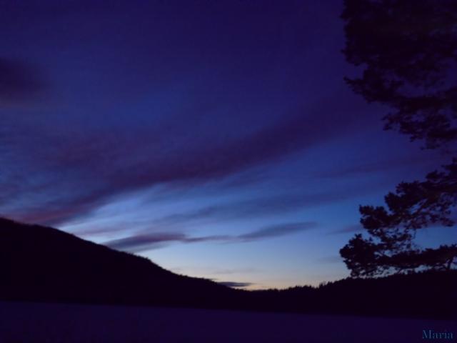 Mörk kvällshimmel 1, 1...