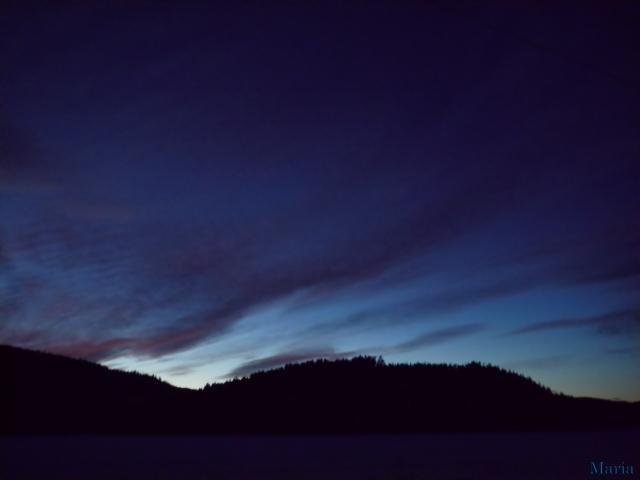 Mörk kvällshimmel 4, 4...