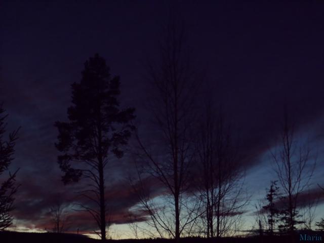 Mörk kvällshimmel 6, 6...