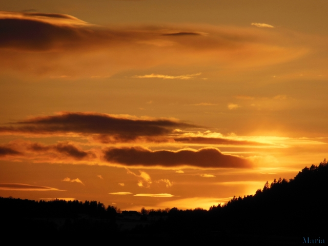 Solnedgång 3, 3...