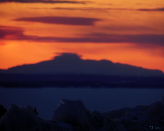 Solnedgång, fjäll 1, 1...