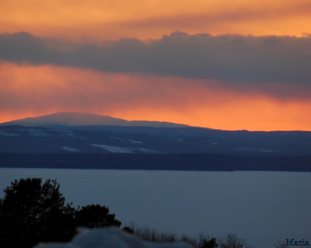 Solnedgång, fjäll 3, 3...
