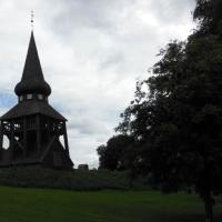 Omgivningen runt Hackås kyrka ... The surrounding of Hackås church ...