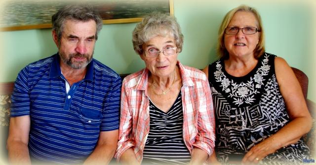Bosse, Mamma och Elisabeth 5,5...
