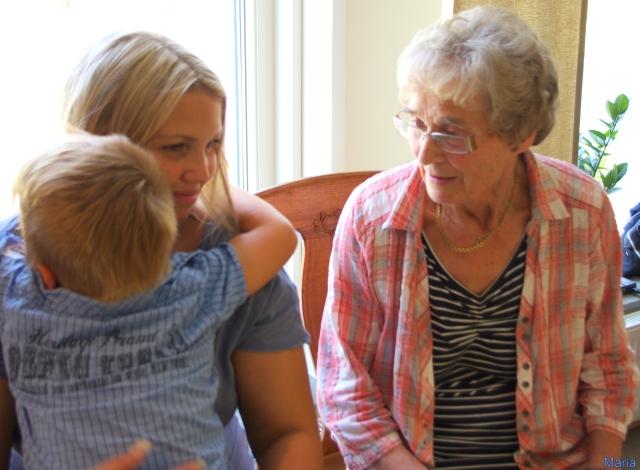 Devin, Sandra och Mamma 3,3...